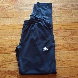 Adidas Black Climalite Athletic Pants